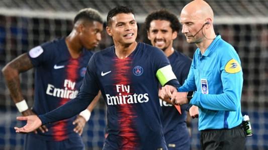 Thiago Silva PSG Lyon Ligue 1 07102018