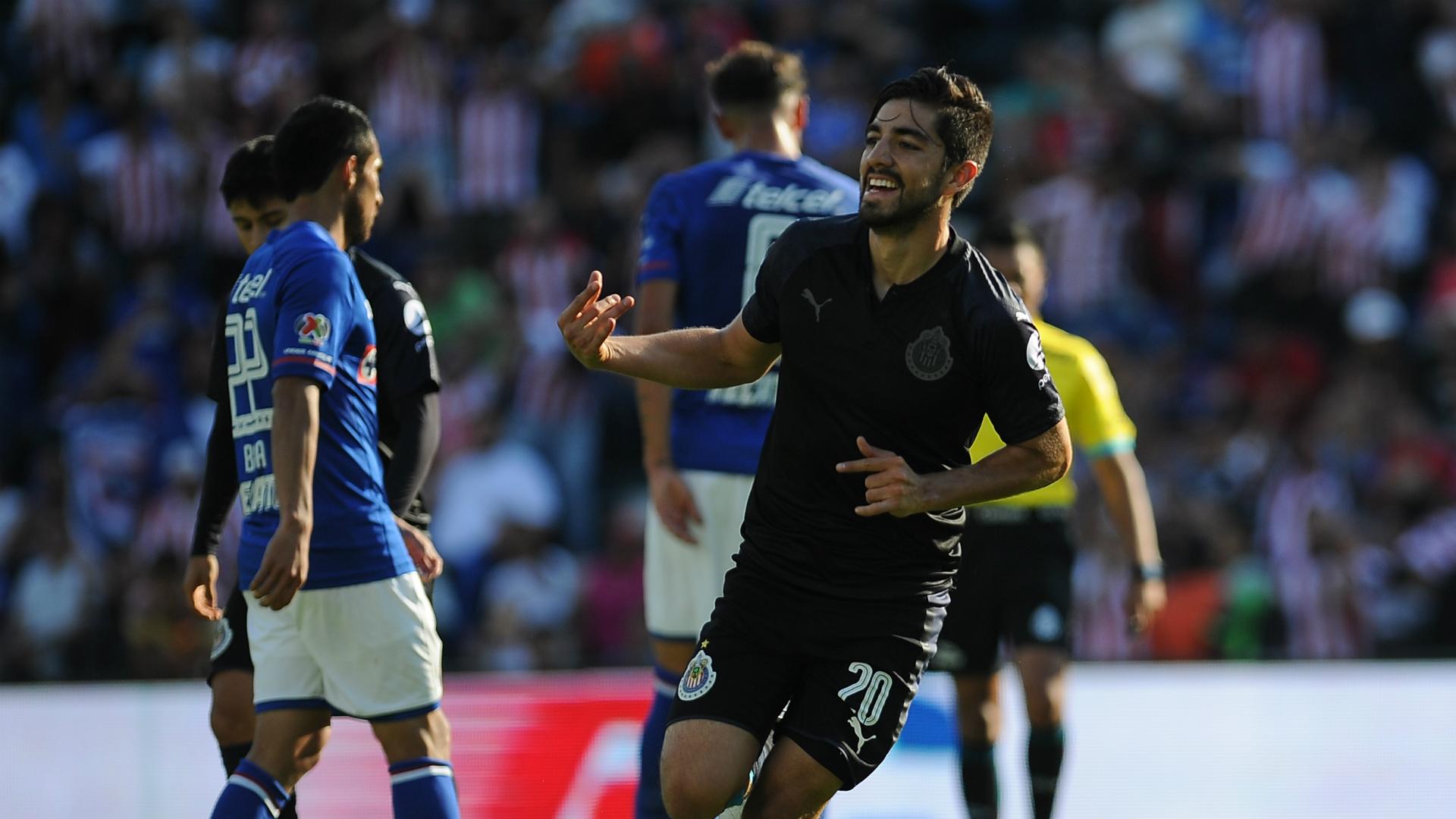 Rodolfo Pizarro Chivas Apertura 2017