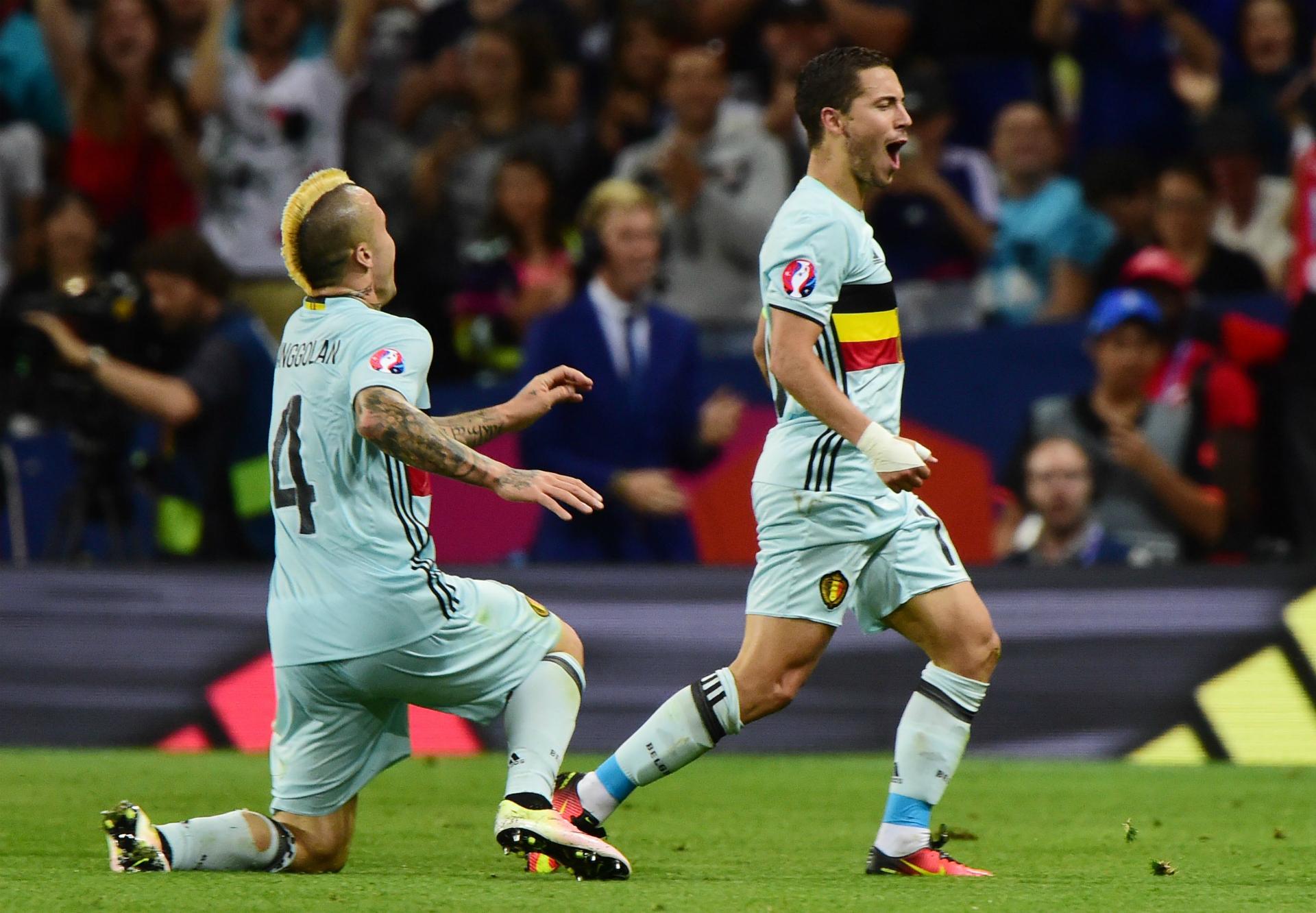 Eden Hazard Belgium Hungary