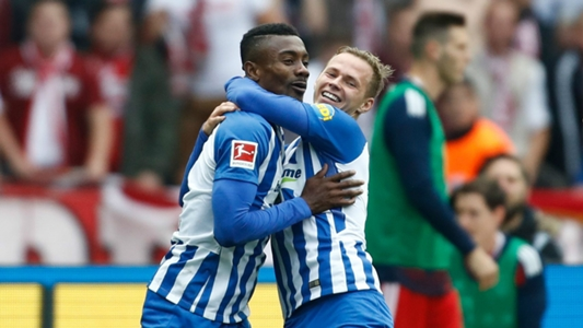 Kalou helps 10-man Hertha Berlin past Keita's RP Leipzig