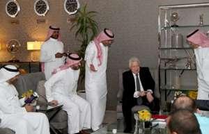 مرتضى منصور في السعودية