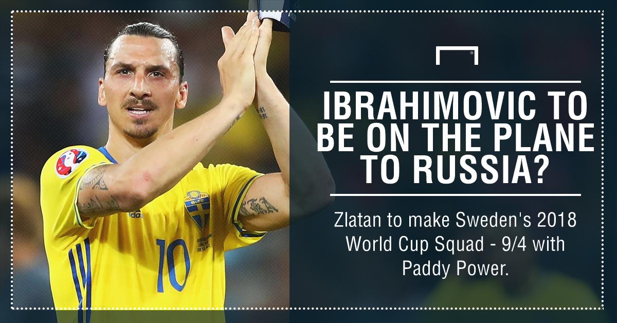 Ibrahimovic World Cup 2018 graphic