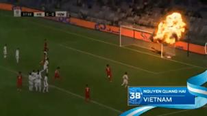 Yemen Vietnam free kick