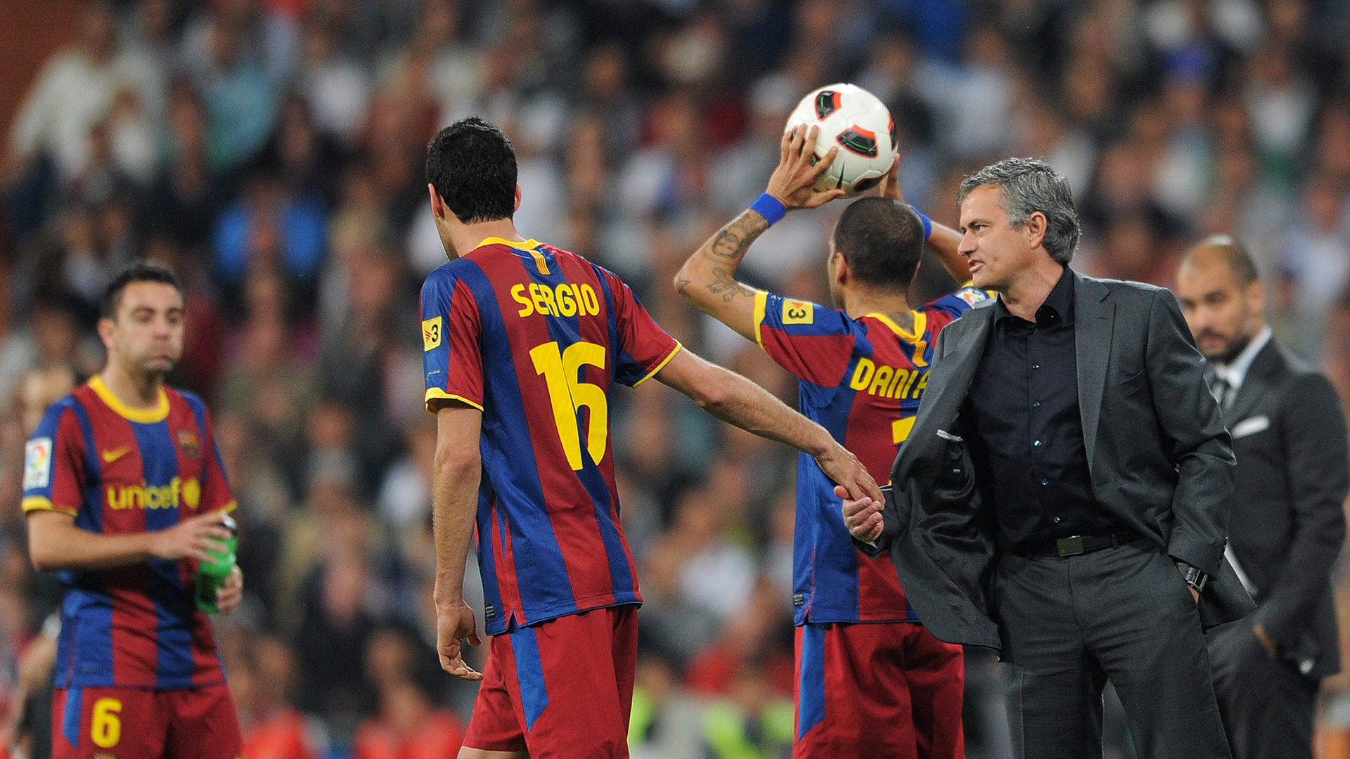 Jose Mourinho Real Madrid Barcelona