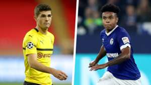 Christian Pulisic Weston McKennie Split