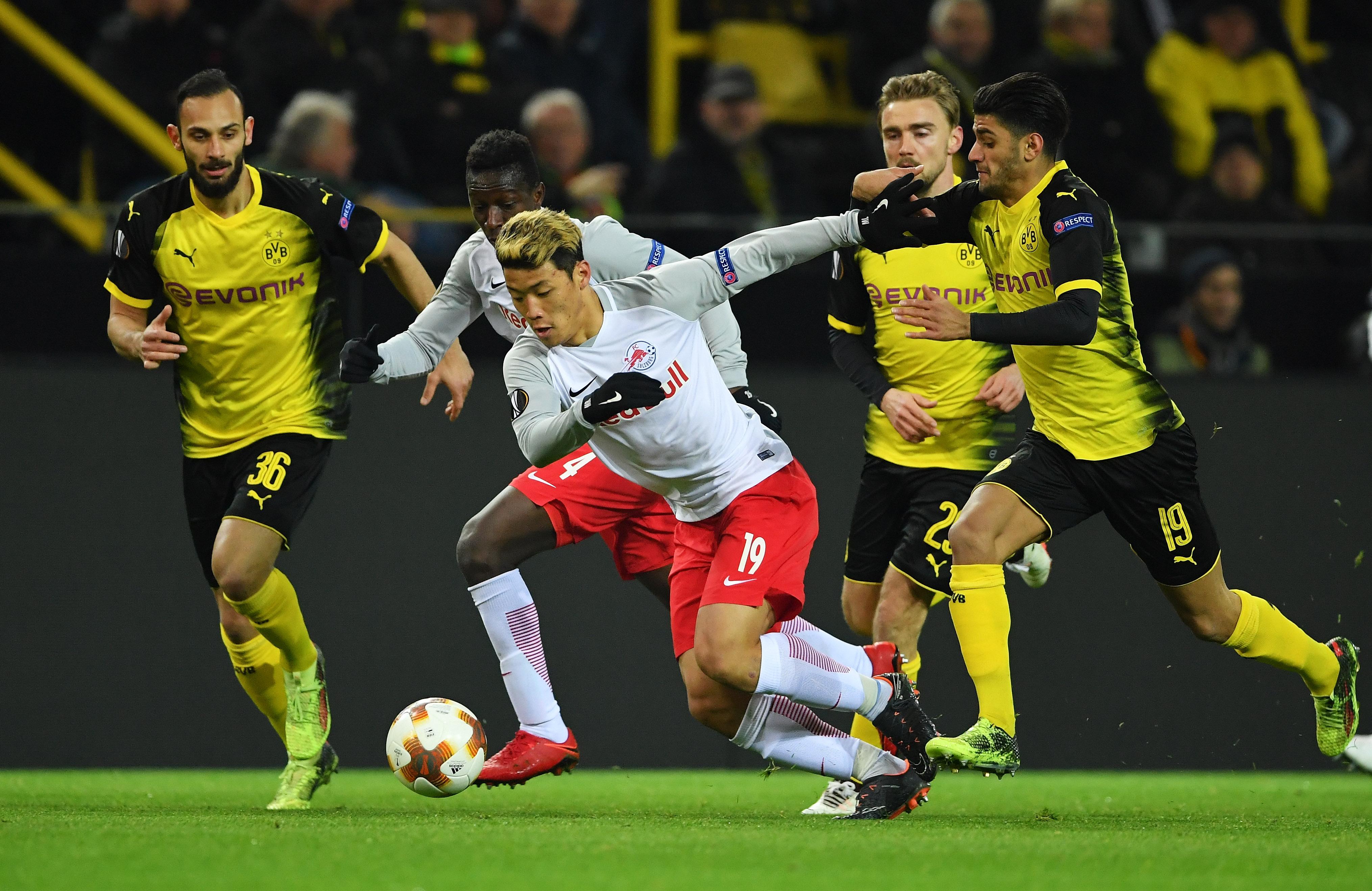 Hwang Hee-Chan vs Dortmund