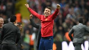 Michael Carrick Manchester United Europa League final