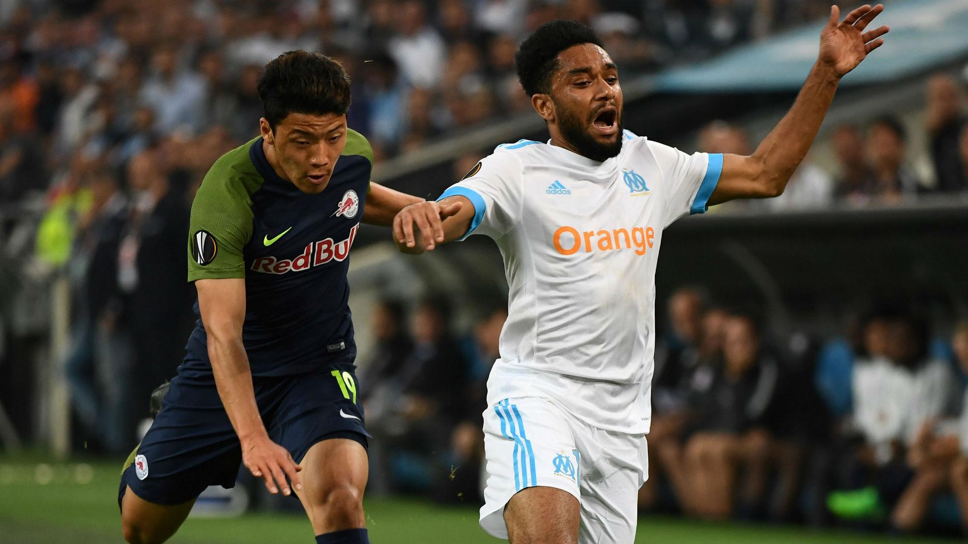 Jordan Amavi Marseille Salzburg UEFA Europa League 26042018