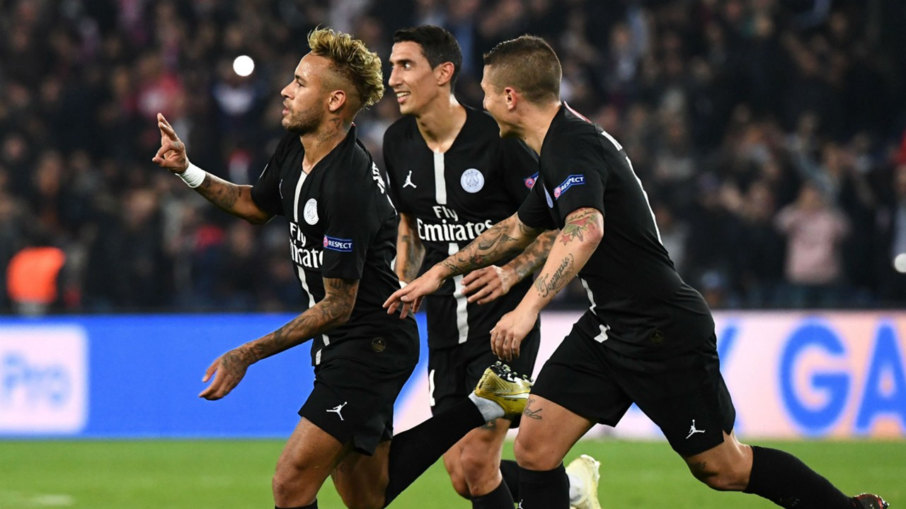 16e71bb9ff9 Image result for Neymar continues remarkable run with Champions League hat-trick  against Red Star