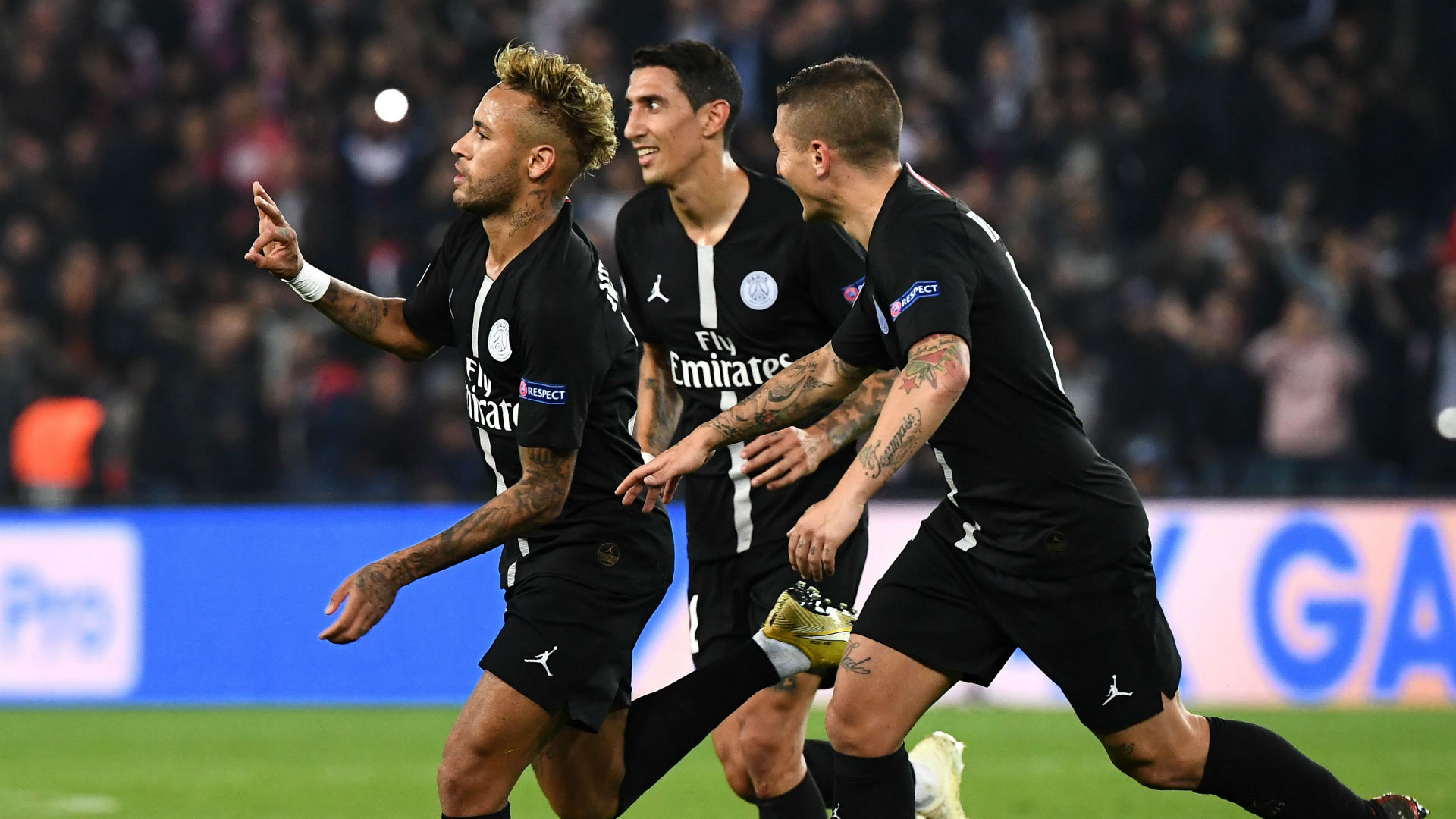 Neymar PSG Red Star Belgrade UEFA Champions League 03102018