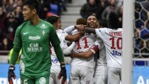 Nabil Fekir Kenny Tete Lyon Metz Ligue 1 29102017