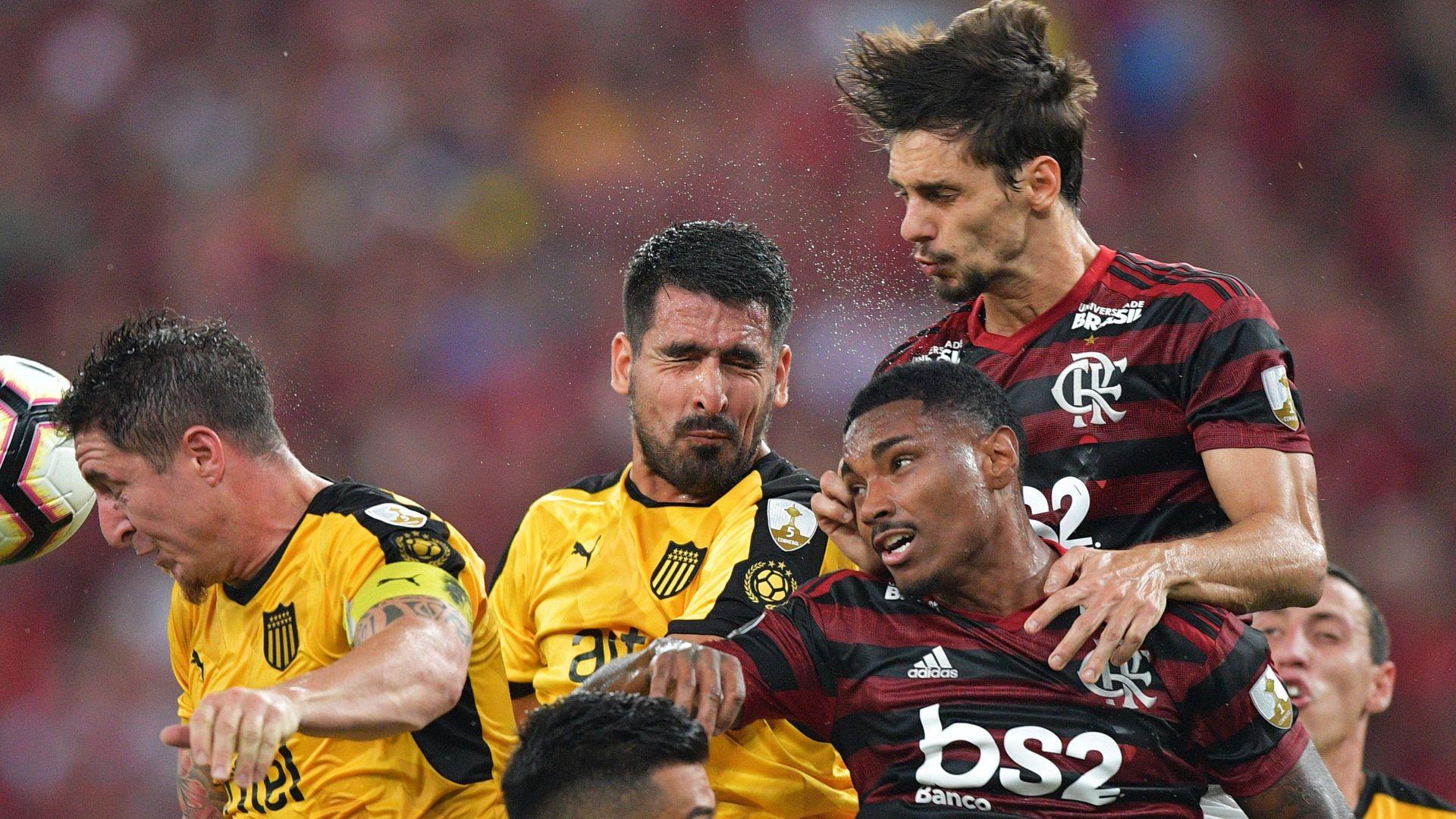 Rodrigo Caio Vitinho Flamengo Peñarol Copa Libertadores 03042019