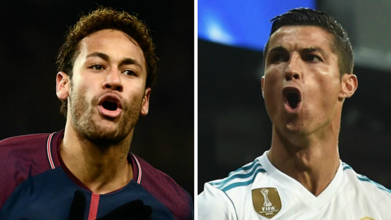 Neymar Cristiano Ronaldo 2017