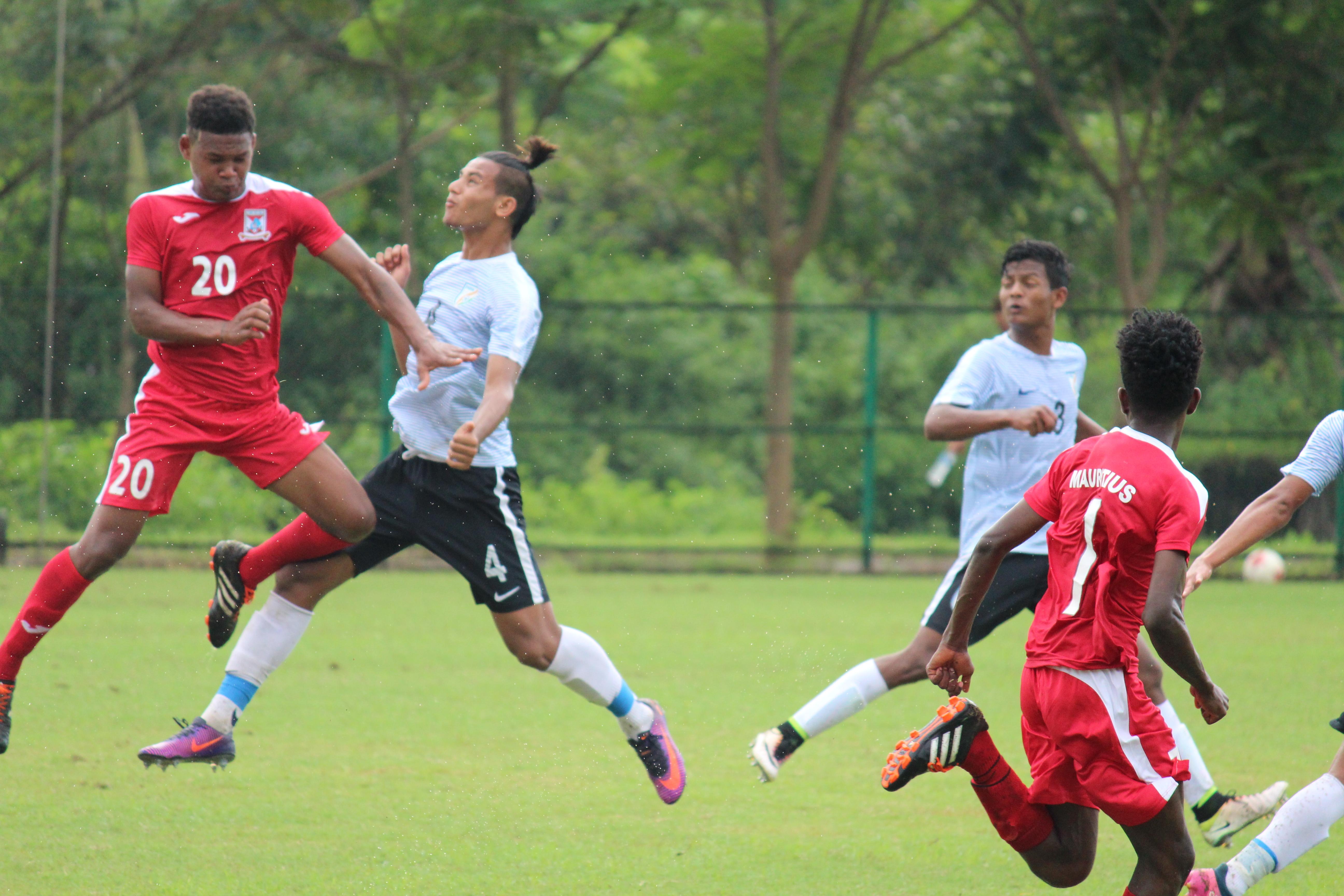 India U17 vs Mauritius U17