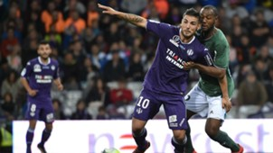 Kévin Theophile-Catherine Andy Delort Toulouse ASSE Ligue 1 29102017
