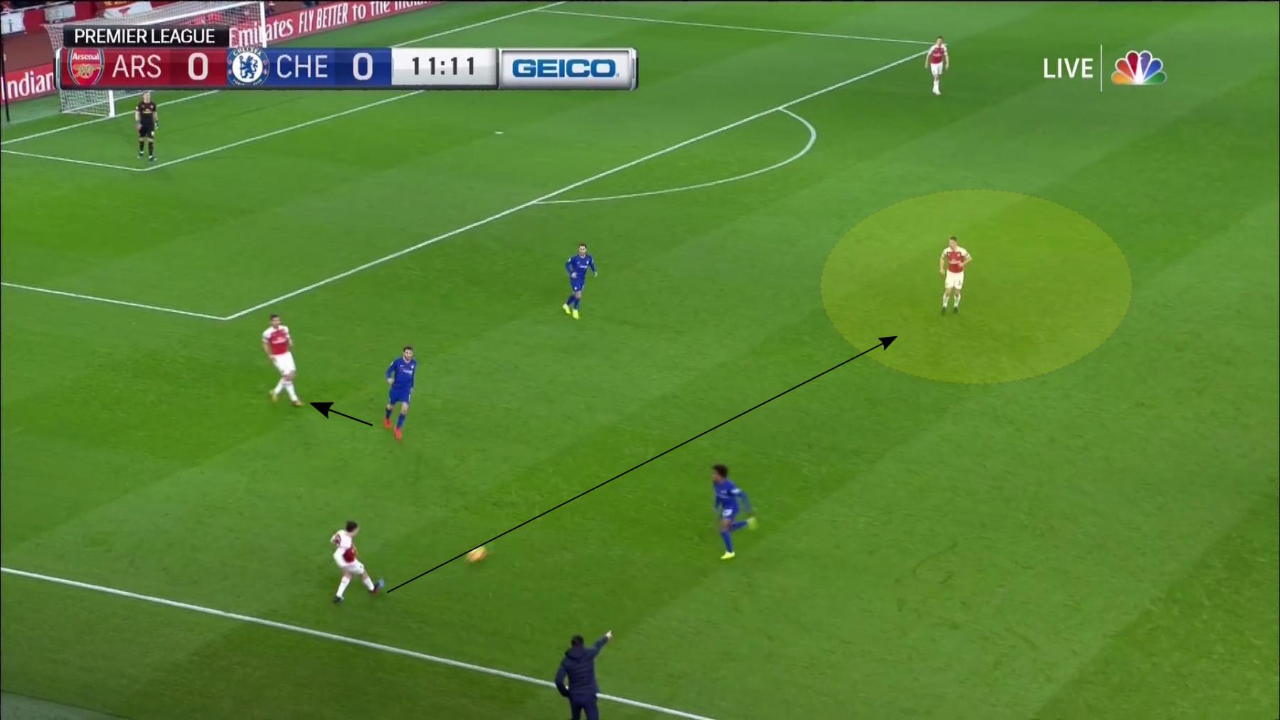 Arsenal Chelsea 5.