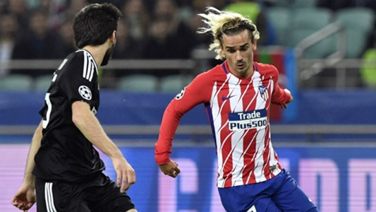 Antoine Griezmann Qarabag Atletico Madrid 18102017