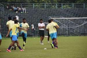 Khalid Jamil East Bengal training