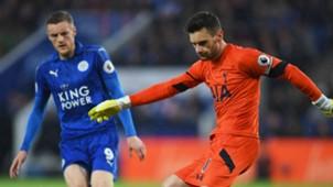 Jamie Vardy Leicester Hugo Lloris Tottenham