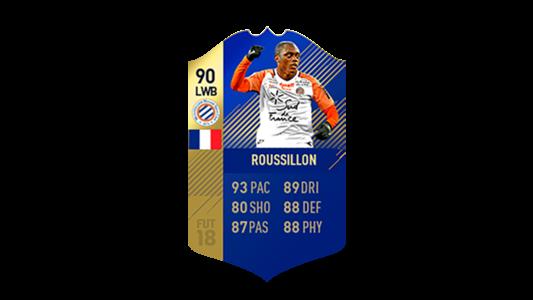 FIFA 18 Ligue 1 Team of the Season Roussillon
