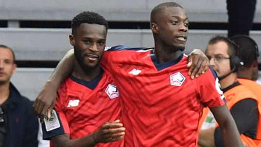 Jonathan Bamba Nicolas Pepe Lille Saint-Etienne Ligue 1 06102018