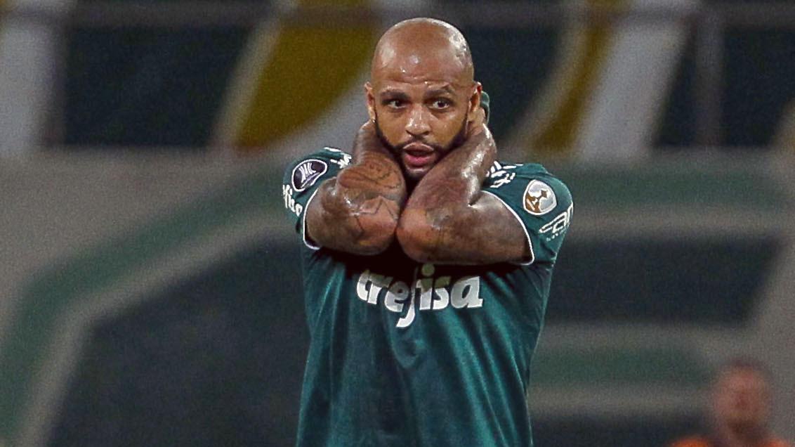 Felipe Melo Palmeiras Boca 11042018 Copa Libertadores