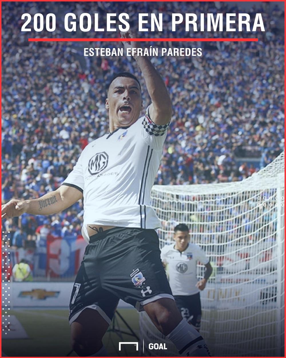 Esteban Paredes 200