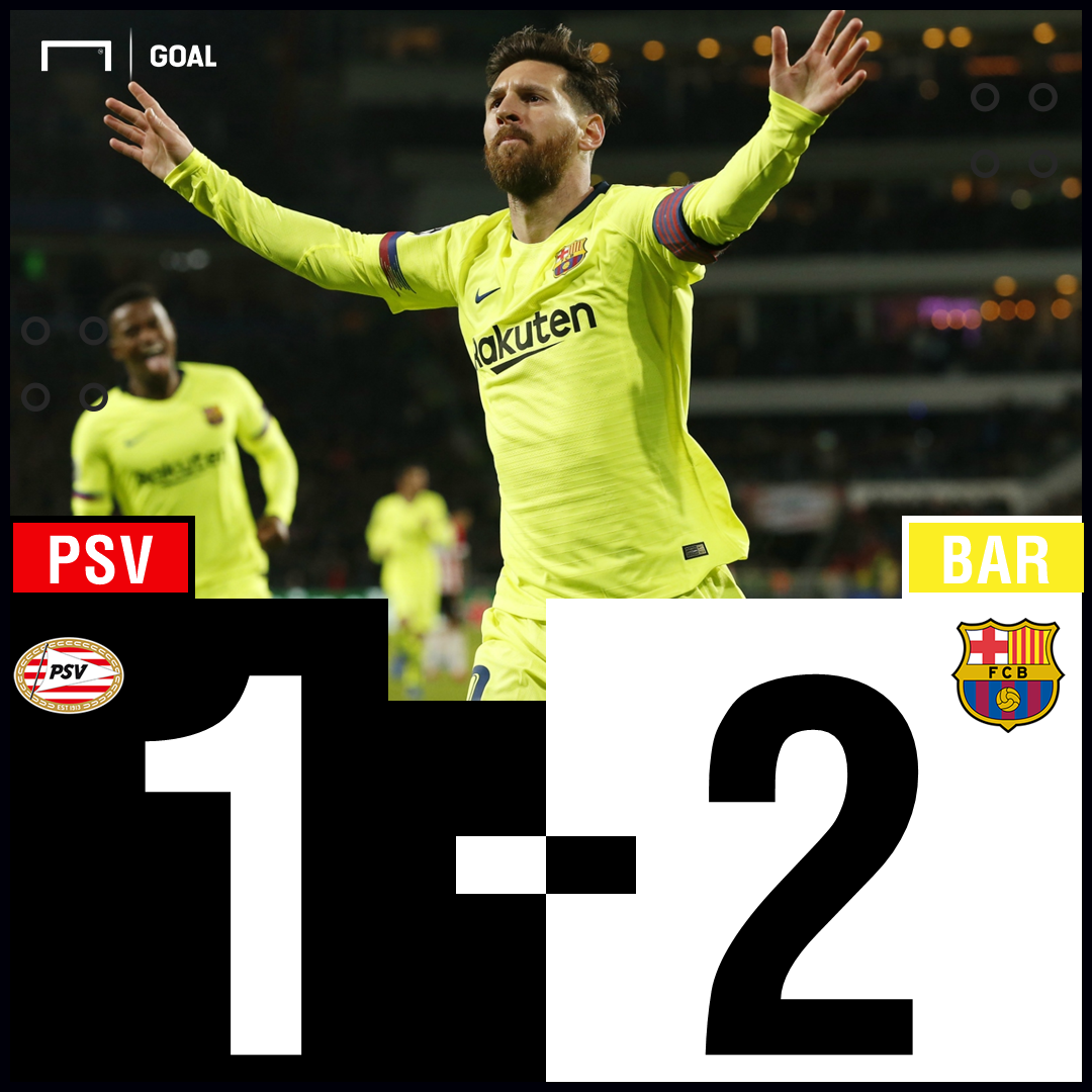 Barcelona PSV