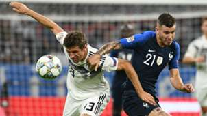 THOMAS MÜLLER GERMANY LUCAS HERNANDEZ FRANCE NATIONS LEAGUE 06092018