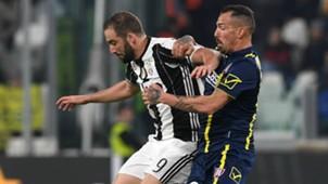 Higuain Cacciatore Juventus Chievo Serie A