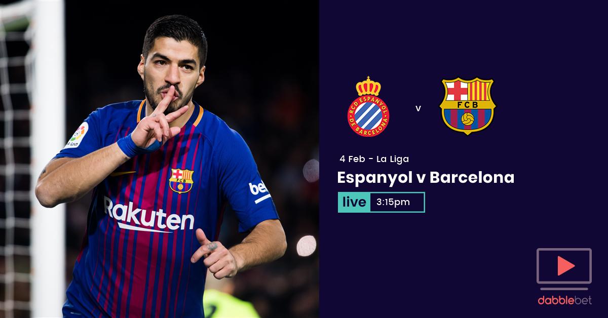 Espanyol Barca graphic