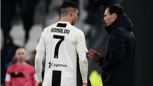 Cristiano Ronaldo Allegri Juventus Serie A