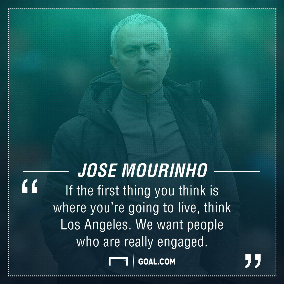 Jose Mourinho LA