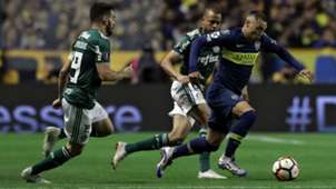 Bruno Henrique Mauro Zarate Boca Palmeiras Copa Libertadores Semifinal Ida 24102018