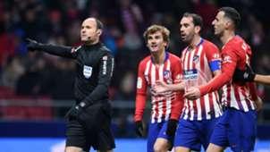 Mateu Lahoz Atletico de Madrid Girona Copa del Rey 16012019