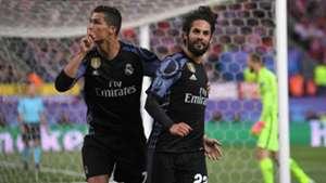 Cristiano Ronaldo Isco Alarcon Atletico Madrid Real Madrid UEFA Champions League