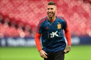 Sergio Ramos Spain England