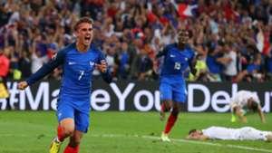 Antoine Griezmann France Albania Euro 2016