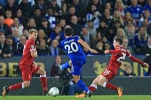 Shinji Okazaki - Leicester City v Liverpool
