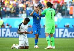 Alisson Becker Philippe Coutinho Brazil Costa Rica World Cup 2018