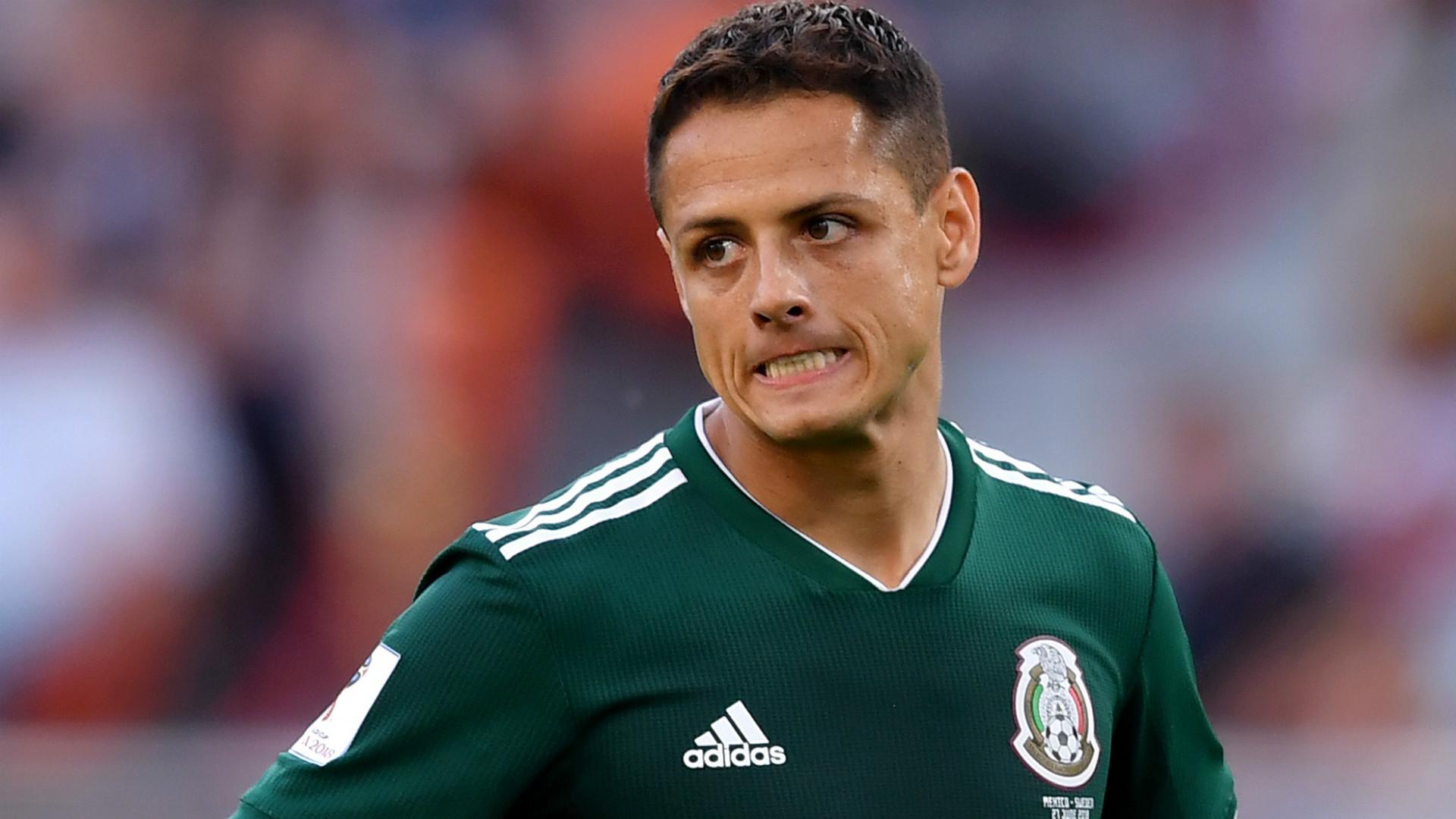 Javier Hernandez Sweden Mexico World Cup 2018