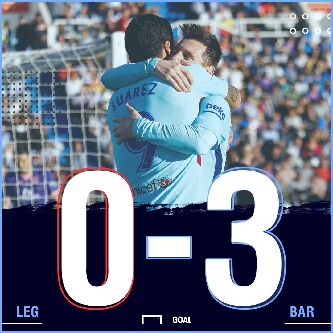 Leganes Barca score