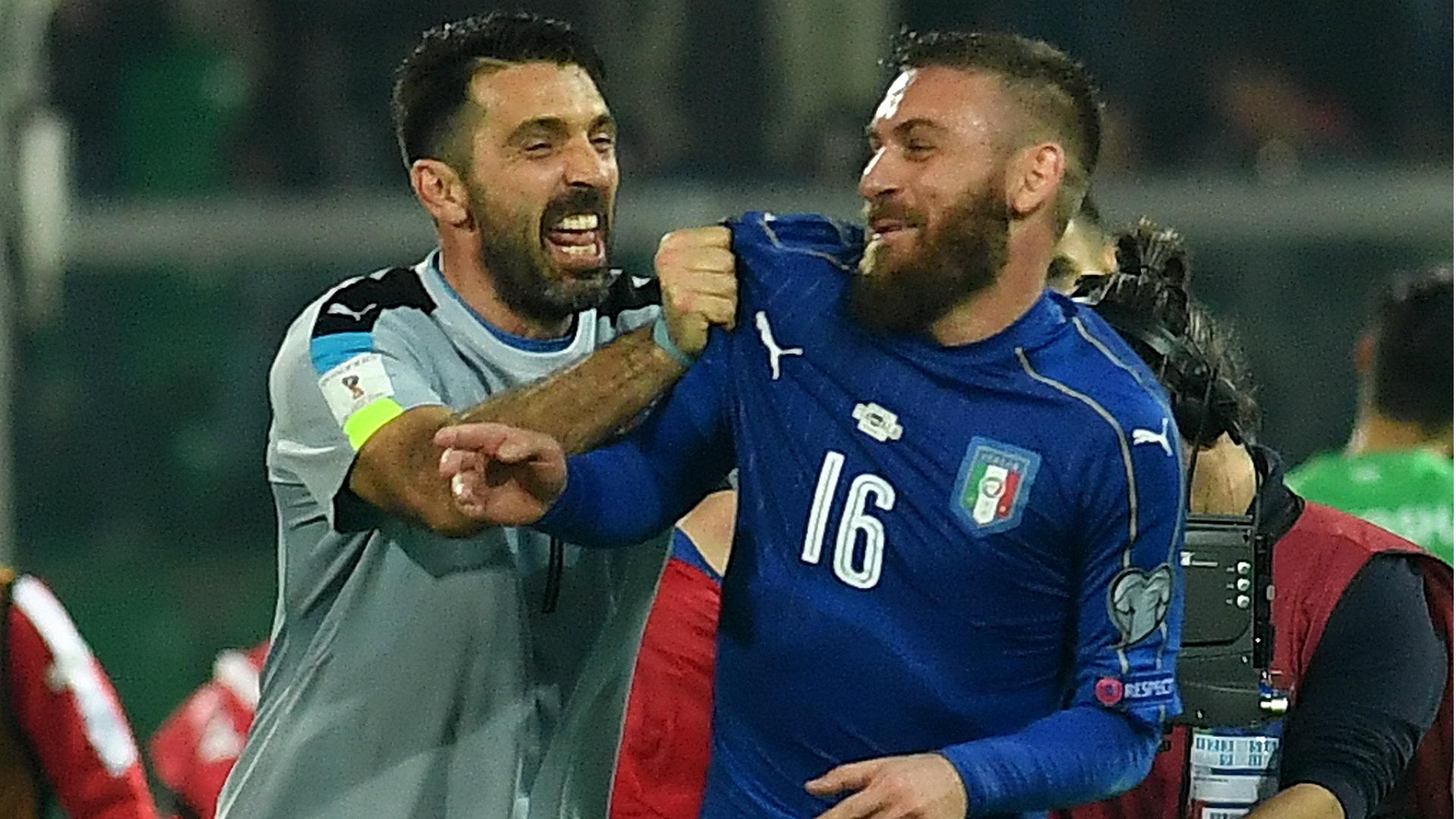 Gianluigi Buffon Daniele de Rossi Italy