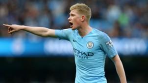 Kevin De Bruyne Manchester City 2018-19