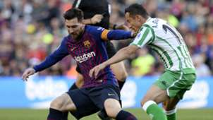 Lionel Messi Barcelona Andres Guardado Real Betis