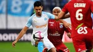 Morgan Sanson Marseille Strasbourg Ligue 1 26092018