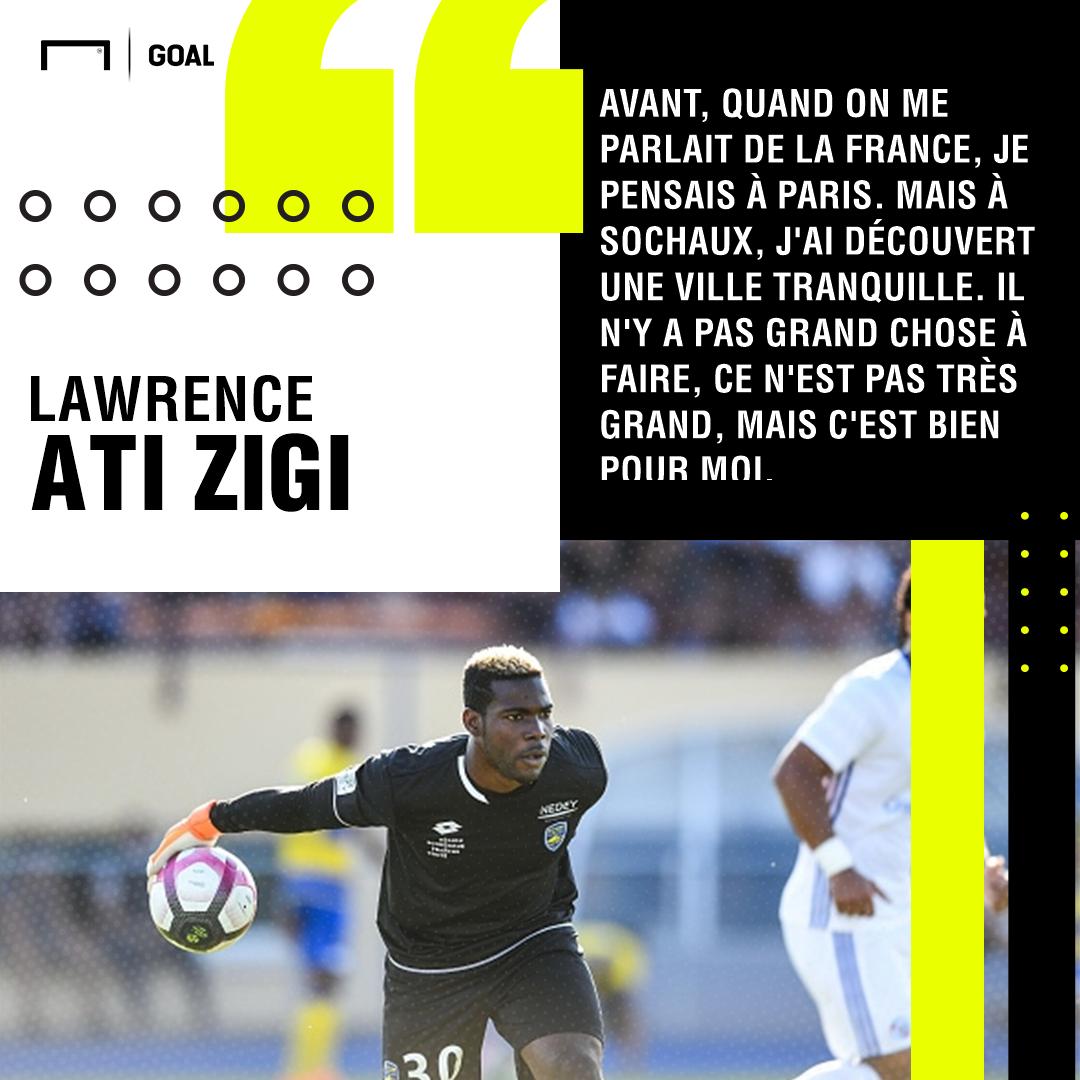 Lawrence Ati Zigi Sochaux Ligue 2