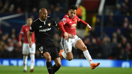 Steven Nzonzi, Man Utd vs Sevilla, Champions League 17/18