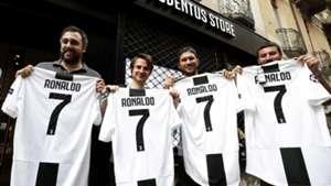 Cristiano Ronaldo Juventus shirts
