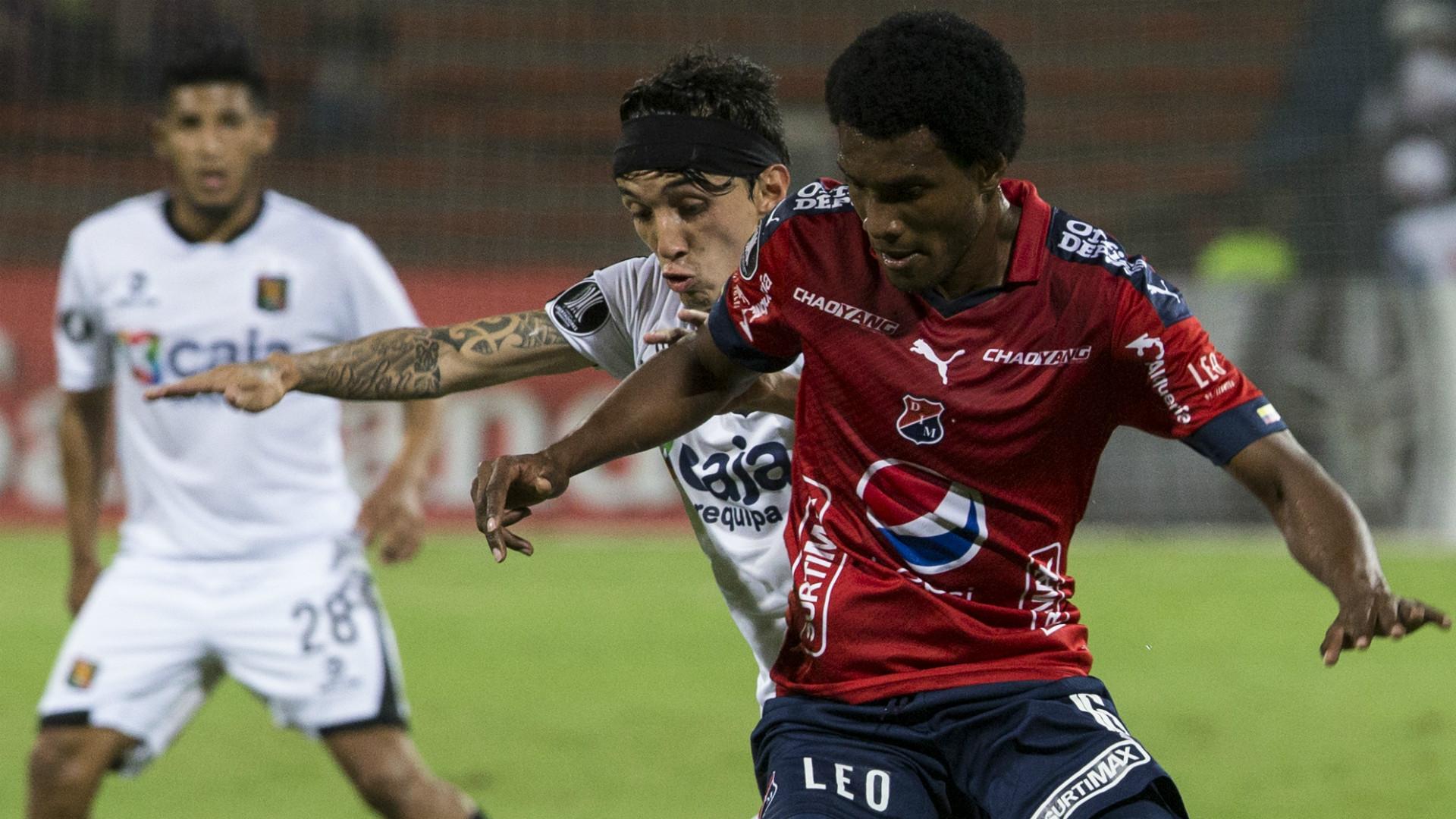 Didier Moreno DIM Copa Libertadores 2017